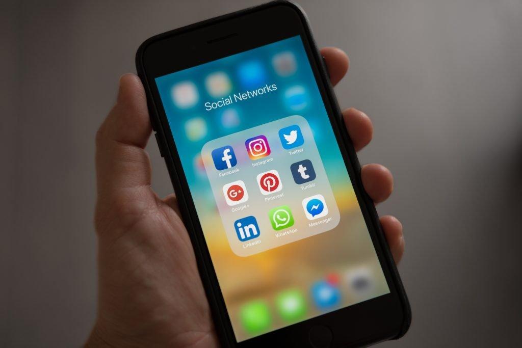 redes sociais, canais do marketing digital